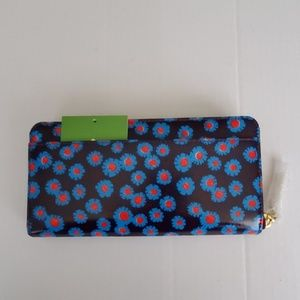 kate spade Bags - Kate Spade tangier floral stacy Zip Around Wallet